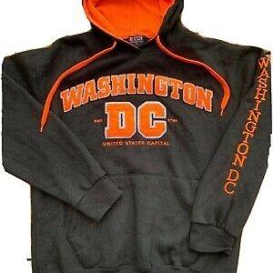 Washington DC Sweatshirt Hoodie Gray